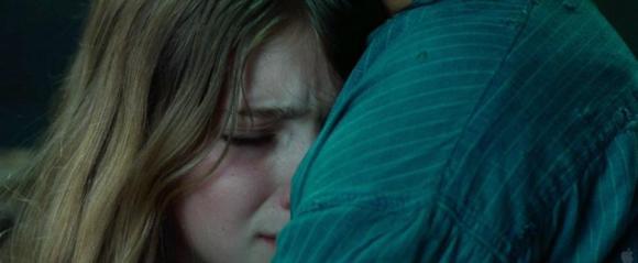 Movie Still: Katniss & Prim