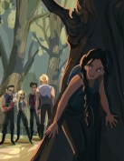 Fan Art: Katniss & Other Tributes in the Arena