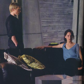 Movie Still: Peeta & Katniss