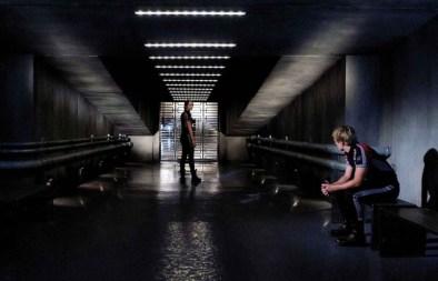 Movie Still: Peeta & Katniss