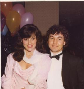 Me and George in 1983
