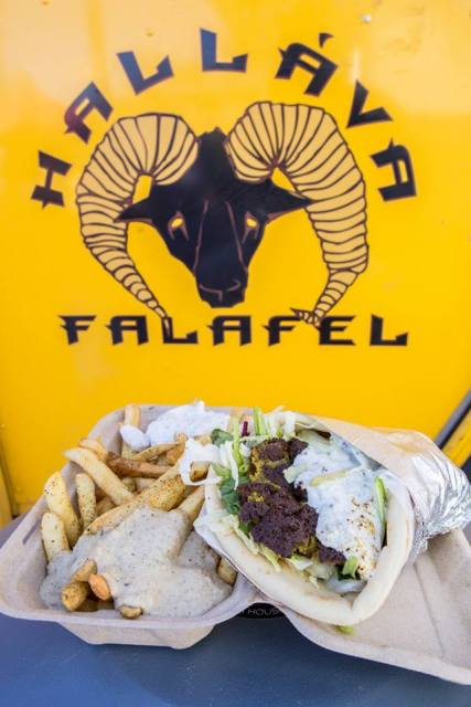 Hallava Falafel Seattle Food Trucks