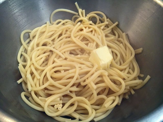 pasta butter amatriciana