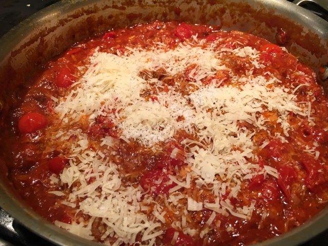 sauce cheese amatriciana