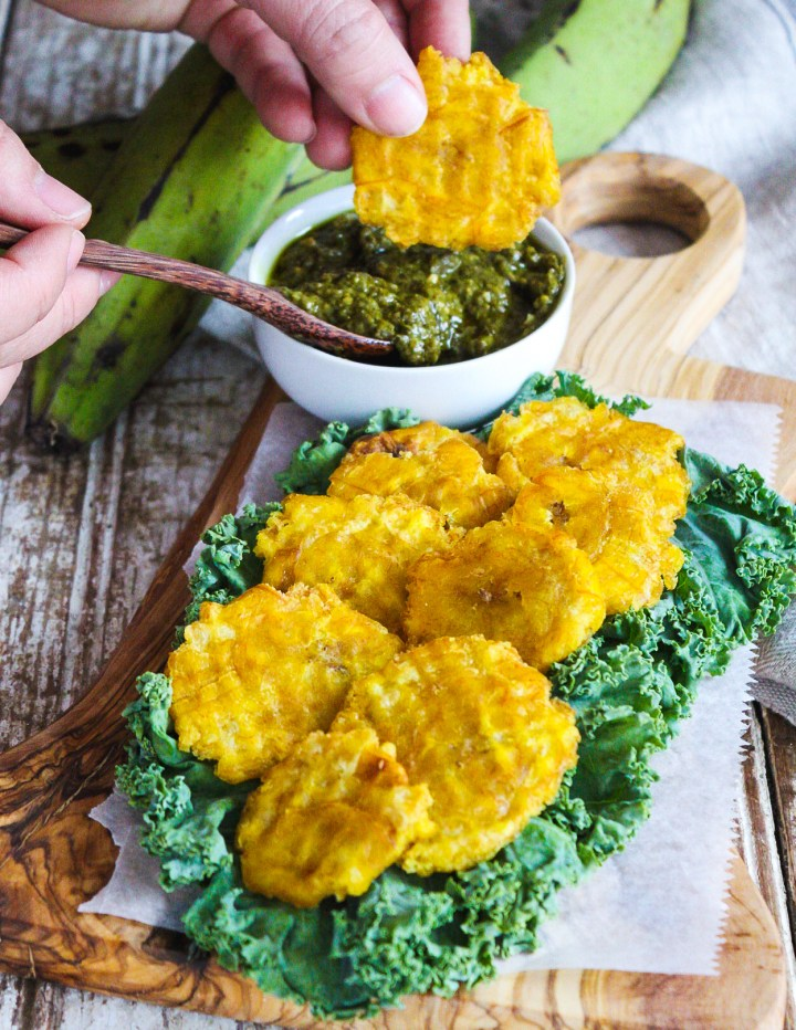 Puerto Rican Tostones – Fried Plantains