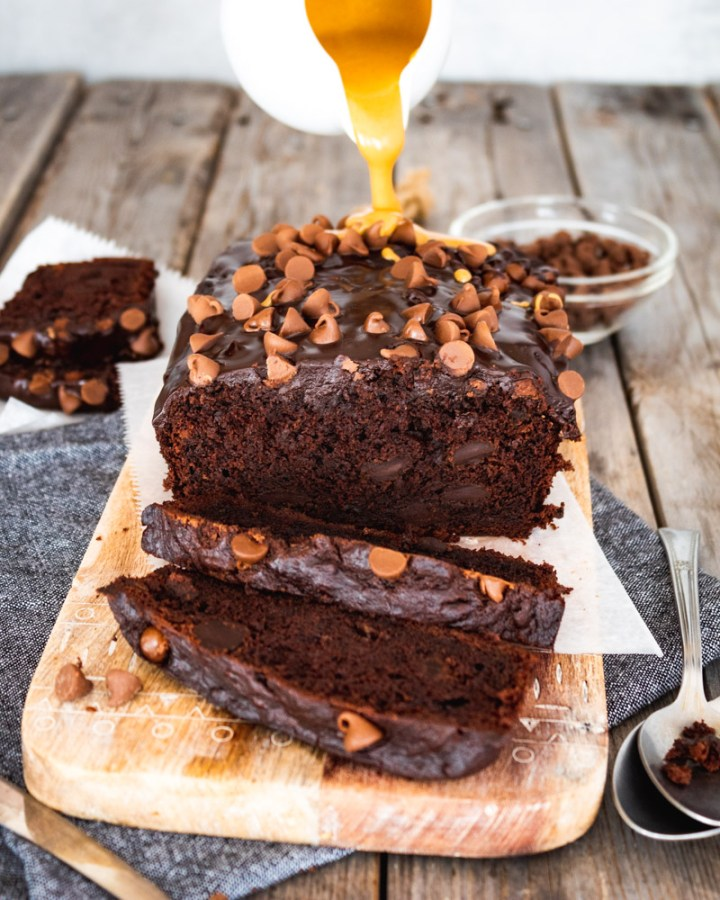 Vegan Chocolate Banana Bread