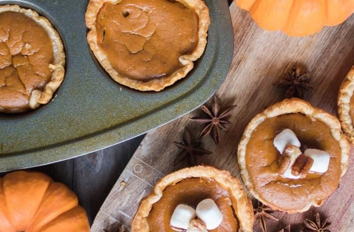 pumpkin spice tartlets