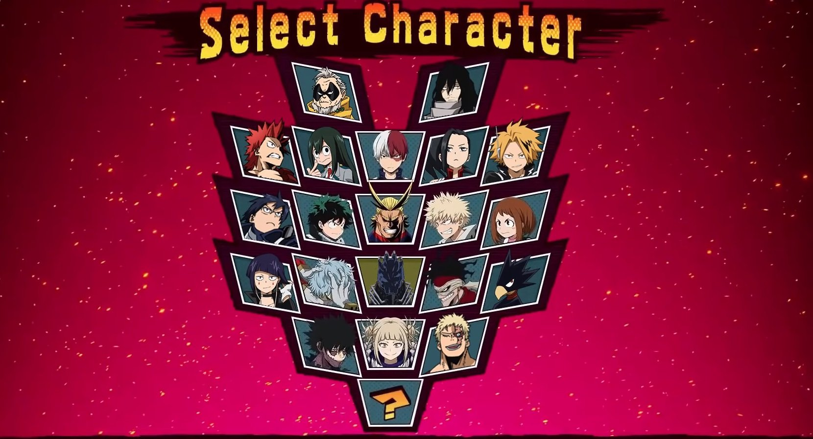 my-heros-one-justice-character-roster-lineup