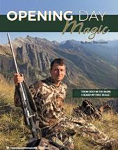 Opening Day Magic by Brett Marciasini - Mountain Hunter, Spring 2016