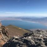 Walker Lake from Mount Grant