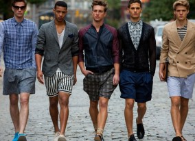 male models wearing summer outfits
