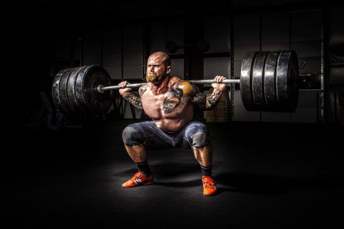 WEIGHT LIFTING TO GET RIPPED