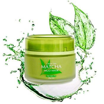 Green tea macha mud face wash for men and women