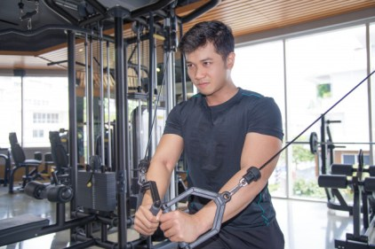 Standing Cable Chest Press