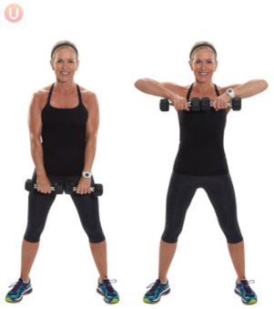 how to do upright row exercise