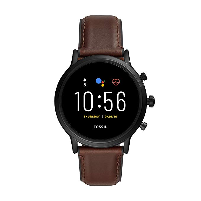 Fossil Gen 5 Carlyle Stainless Steel Touchscreen Smartwatch