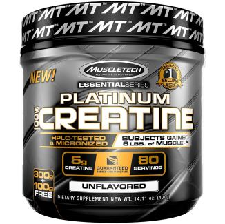 MuscleTech Platinum Creatine Monohydrate Powder