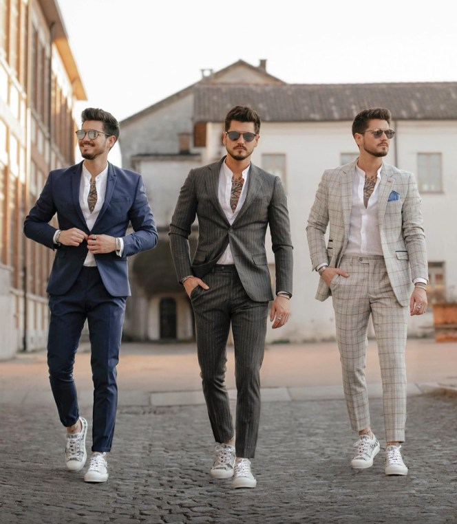 checkmate outfit trend man stylihs checkmate suit