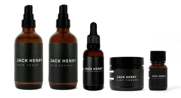 Jack Henry Men's Grooming Products Kit
