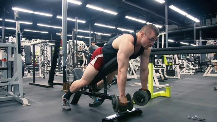 incline row exercise shoulders workout