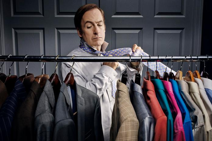 Multi-colored shirts worn by Bob Odenkirk in 'Better Call Saul' Netflix