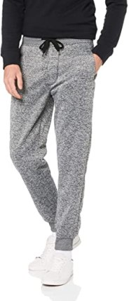 Southpole Basic Fleece Marled Jogger Pants