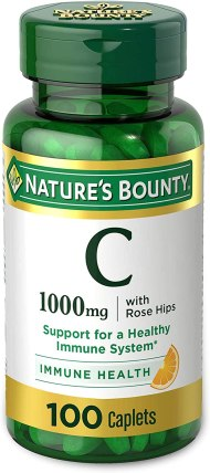 Vitamin C + Rose Hips by Nature's Bounty