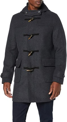 Amazon Brand - find. Men's Duffle Wool Coat