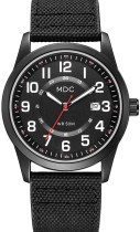 Black Military Analog Wrist Watches for Men