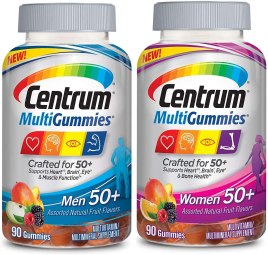 Centrum MultiGummies Multi+Beauty Supports a Healthy and Beautiful Body