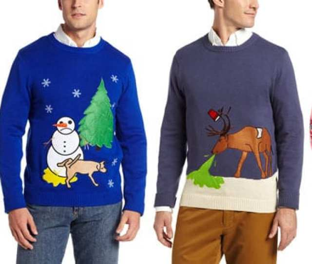 Alex Stevens Makes  Of All Ugly Christmas Sweaters On The Market