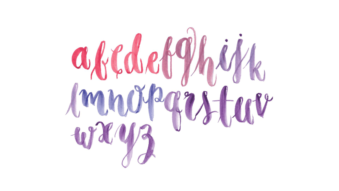 watercolor-typography-the-hustler-collective