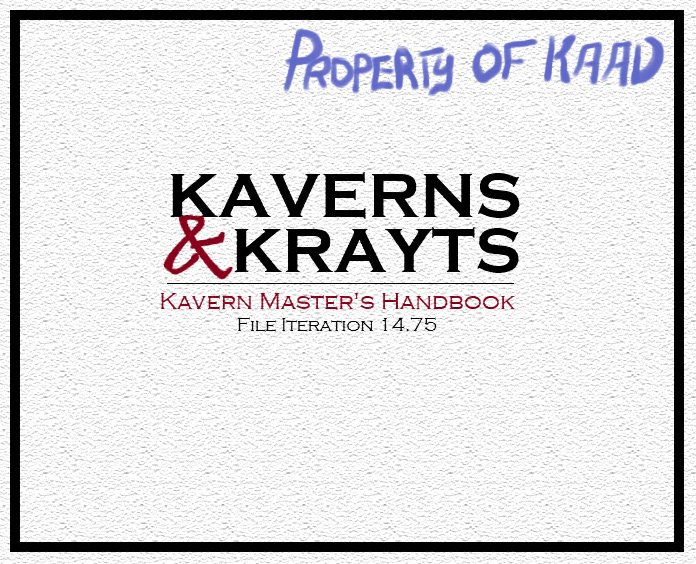 Kaverns & Krayt Dragons Episode 1