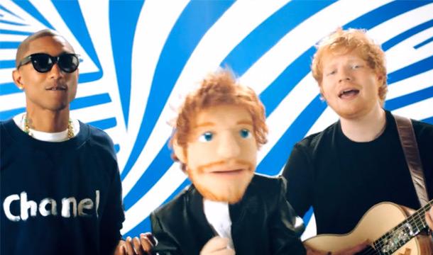 Ed-Sheeran-Sing-Ft-Pharrell-music_video