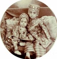 Sahebzada Salabath Jah and Sahebzadi Ahmed Unnisa, c. 1910