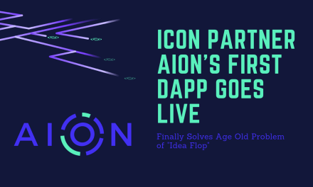 "Finally, Aion DApp Solves ""Idea Flop"""