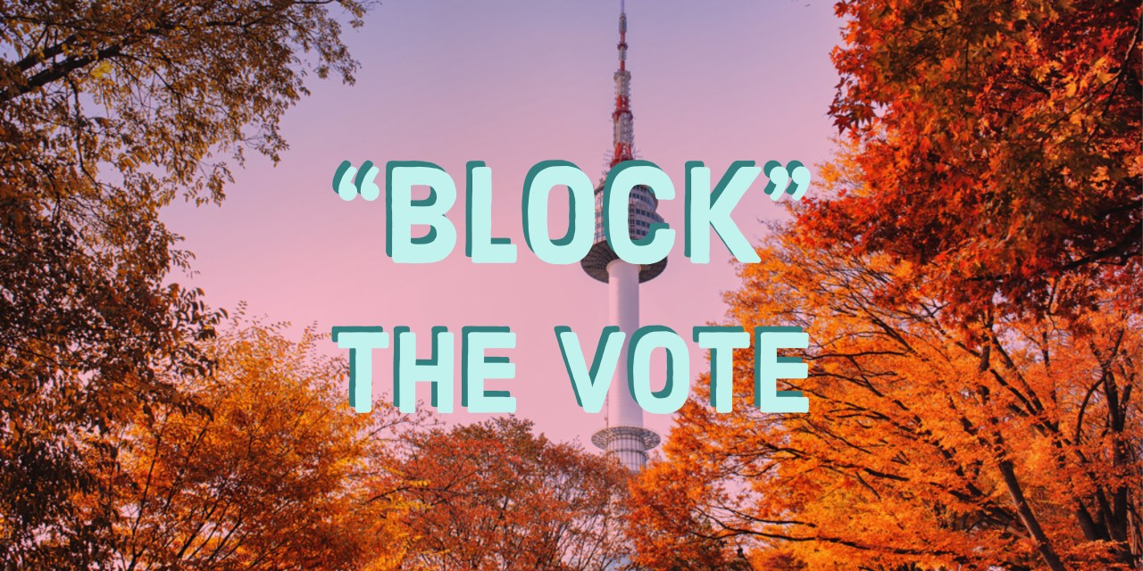 'Block' the Vote