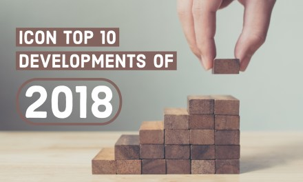 ICON Top 10 Developments of 2018