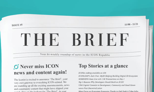 THE BRIEF #5: What's Next After Decentralization and MyID Alliance?
