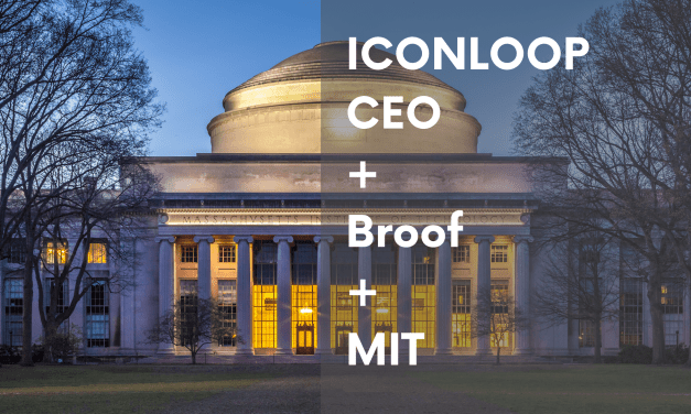 ICONLOOP CEO Speaks at MIT AMP, Broof Used to Issue Certificates