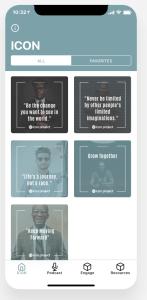 Icon Project app