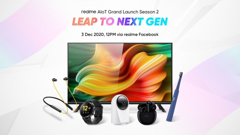 realme Malaysia Bring a Bunch of New AIoT on 3rd December