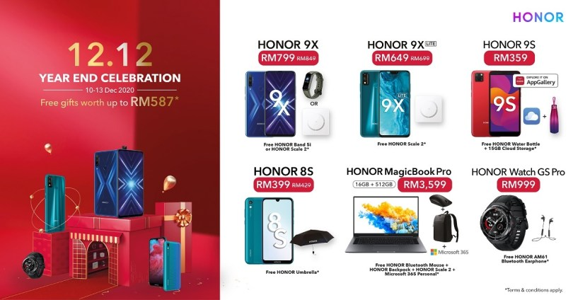 HONOR Year End Sale