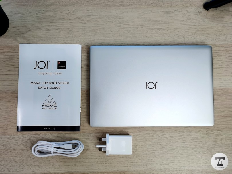 JOI Book SK3000 Inside The Box