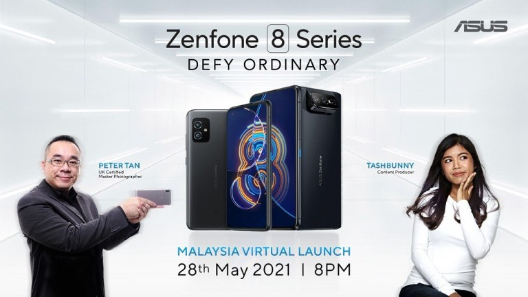 ASUS Zenfone 8 Series To Be Launch on 28th May 2021 & You Could Win One