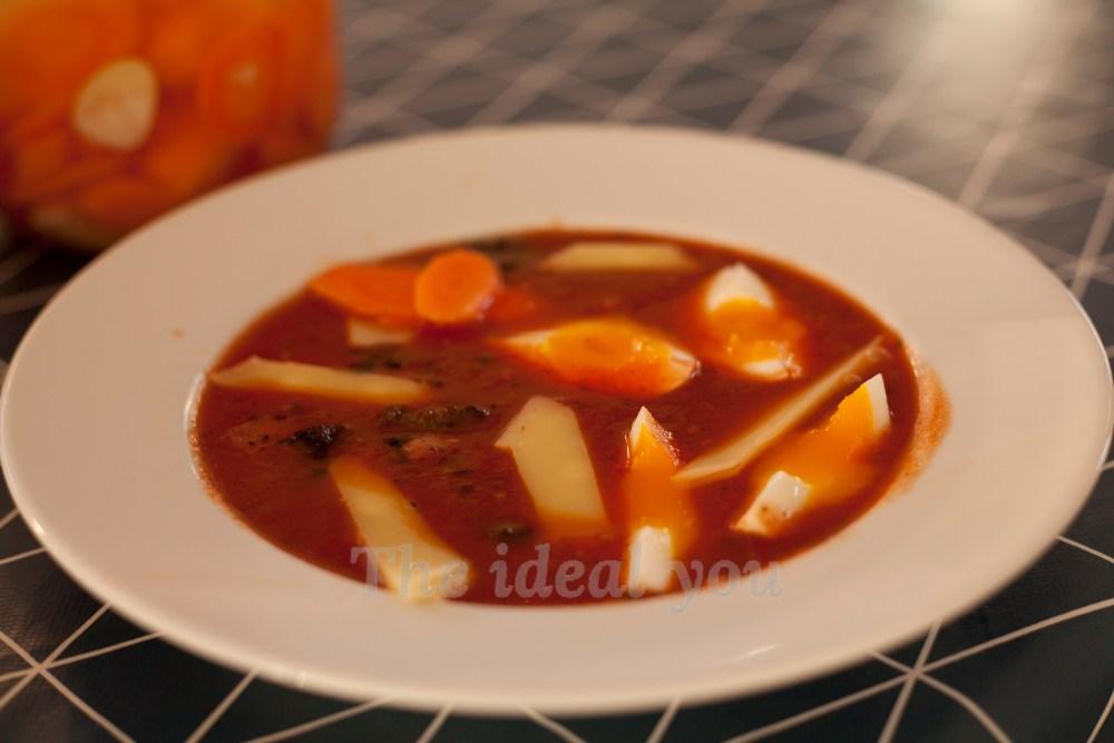 tomatsuppeskål