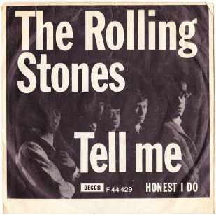 """The Rolling Stones Single Cover for """"Tell Me"""""""