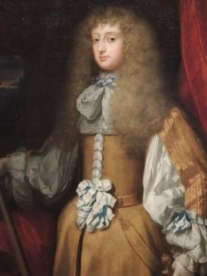 English School, Frances Stuart dressed as a man