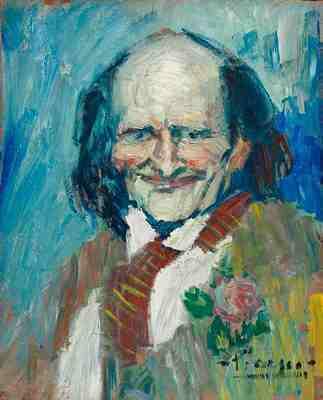 Pablo Picasso, Portrait of Bibi La Puree