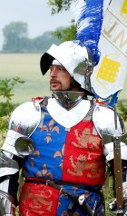 Edward IV sizes up the opposition before the Battle of Tewkesbury